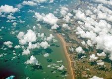 Atlantische kust van Frankrijk Royalty-vrije Stock Fotografie
