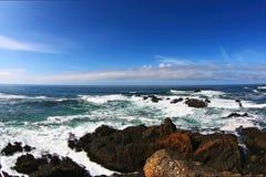 Atlantische kustlijn royalty-vrije stock afbeeldingen