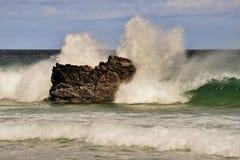Atlantische nevel, Noordelijk Schotland Royalty-vrije Stock Foto's