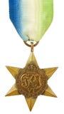 Atlantische Stern-Medaille Stockbild