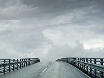 Atlantische Weg aan Hemel Royalty-vrije Stock Foto's