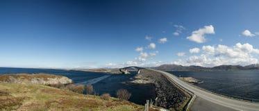 Atlantische weg, Noorwegen royalty-vrije stock afbeelding