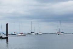 Atlantischer Hochländer Municipal-Jachthafen Lizenzfreie Stockfotografie
