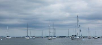 Atlantischer Hochländer Municipal-Jachthafen Stockbilder