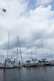 Atlantischer Hochländer Municipal-Jachthafen Stockfoto