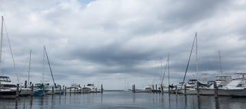 Atlantischer Hochländer Municipal-Jachthafen Stockfotografie