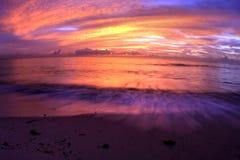 Atlantischer Sonnenaufgang Lizenzfreies Stockfoto