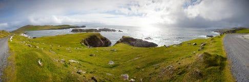 Atlantisches Laufwerk, Achill Insel, Co Mayo, Irland Lizenzfreies Stockbild