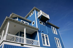 Atlantisches Strand-Haus Lizenzfreies Stockbild