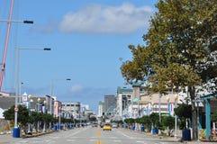 Atlantisk aveny i Virginia Beach Arkivbild