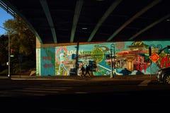 Atlantisk aveny New York City Arkivbild