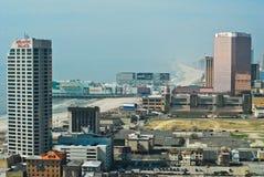atlantisk boardwalkstad nya jersey Royaltyfri Fotografi