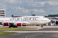 atlantisk boeing oskuld för 747 Royaltyfria Foton