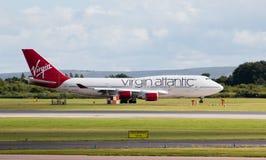 atlantisk boeing oskuld för 747 Arkivfoto