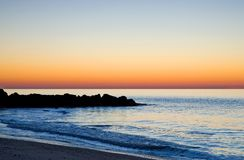 atlantisk färgrik soluppgång 2 Arkivfoton