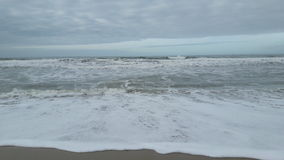 Atlantisk havskust arkivbild