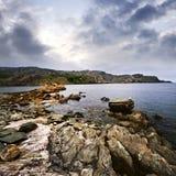 atlantisk kust newfoundland Arkivfoto