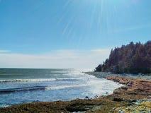 Atlantisk kustlinje Royaltyfria Bilder