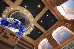Atlantistoevlucht en Casino Stock Foto