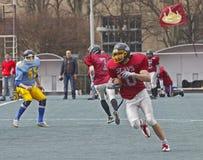 Atlants contra partido de fútbol del camarada de los eslavos Imagen de archivo