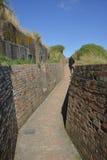 Atlantycka ściana zdjęcie stock