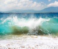atlantycka duży oceanu republiki fala Obrazy Royalty Free
