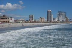 Atlantycka miasto plaża Obraz Stock