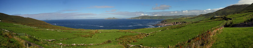atlantycka panorama Zdjęcia Royalty Free