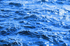 Atlantycki błękitny ocean fala błyskać Zdjęcie Royalty Free