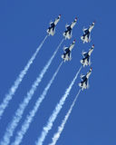 Atlantycki Miasto Airshow Zdjęcia Stock