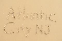 Atlantycki miasto NJ Obraz Stock