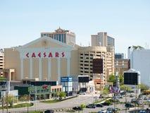 ATLANTYCKI miasto, NJ - MAJ 2018: Widok Atlantycki miasto w Nowym - bydło Miasto zna dla kasyn, boardwalk, plaży i als swój, Obraz Royalty Free