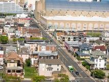 ATLANTYCKI miasto, NJ - MAJ 2018: Widok Atlantycki miasto w Nowym - bydło Miasto zna dla kasyn, boardwalk, plaży i als swój, Zdjęcie Royalty Free