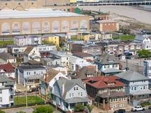 ATLANTYCKI miasto, NJ - MAJ 2018: Widok Atlantycki miasto w Nowym - bydło Miasto zna dla kasyn, boardwalk, plaży i als swój, Fotografia Stock