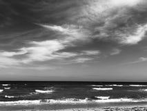Atlantycki morze przy Zachodni palm beach zdjęcie royalty free