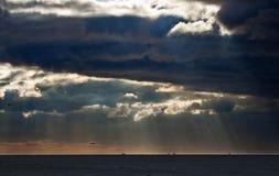atlantycki ocean obraz stock