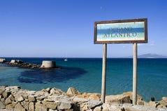 Atlantycki ocean Zdjęcie Stock