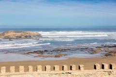 Atlantycki ocean przy Essaouira, Maroko Obraz Royalty Free