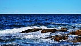 Atlantycki ocean Rockport, usa zdjęcie royalty free