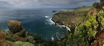 ATLANTYCKI ocean - Sao Miguel wyspa Fotografia Royalty Free