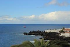 Atlantycki ocean, Tenerife wyspa, Hiszpania Obraz Stock