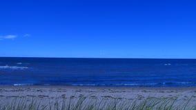 Atlantycki ocean z wybrzeża Kanada Obrazy Royalty Free