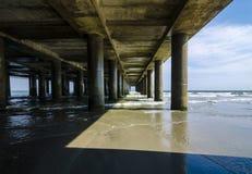 Atlantycki oceanu molo Fotografia Royalty Free