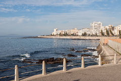 atlantycki przylądka oceanu brzeg miasteczko Zdjęcia Stock