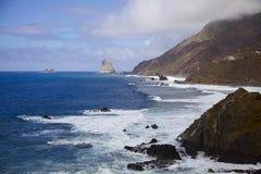 atlantycki widok na ocean Obrazy Stock