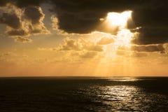 atlantycki zmierzch Zdjęcie Stock