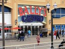 atlantyckiego boardwalk kasynowy miasto s Obrazy Royalty Free