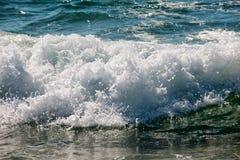 Atlantyk plaża, Portugalia Zdjęcie Royalty Free