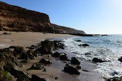 Atlantyk wybrzeże w Maroko Obrazy Stock