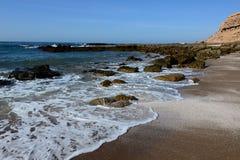 Atlantyk wybrzeże w Maroko Fotografia Royalty Free